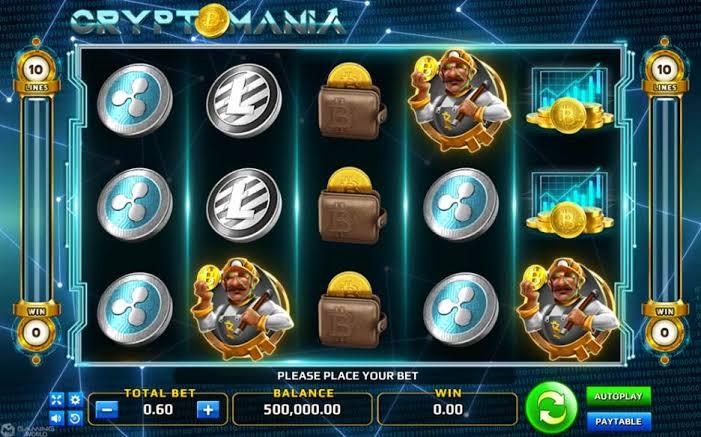 รีวิวเกมส์สล็อต Crypto Mania