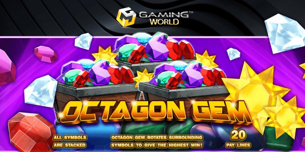 รีวิวเกมสล็อต Octagon Gem