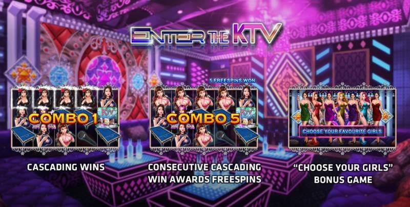 รีวิวเกมส์สล็อต Enter The KTV