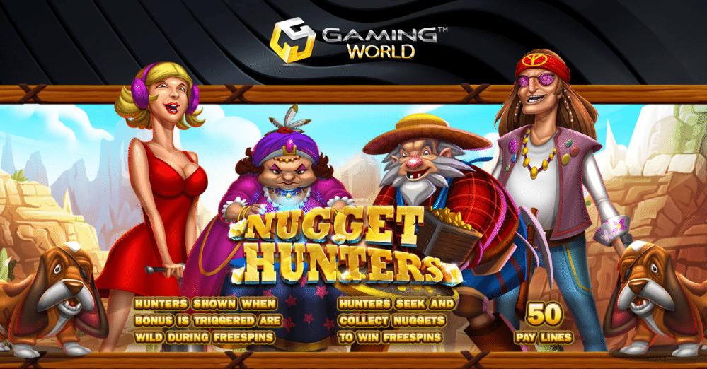 รีวิวเกมส์สล็อต Nugget Hunter