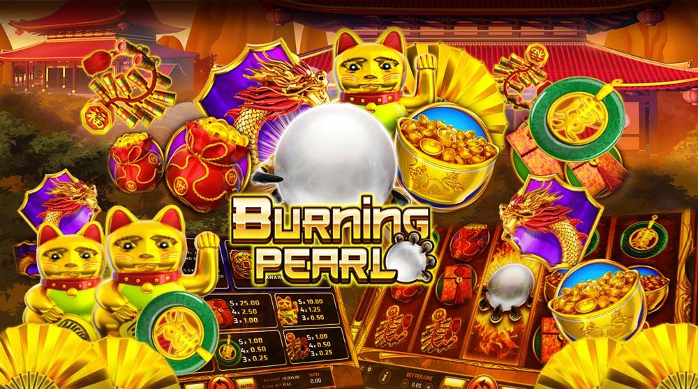 รีวิวเกมสล็อต Burning Pearl
