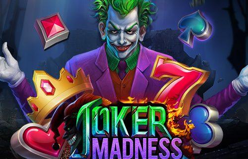 รีวิวเกมส์สล็อต Joker Madness